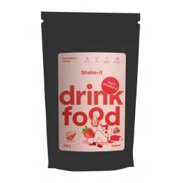 Drink food - jahoda - Shake-it 200g bez lepku a sacharózy