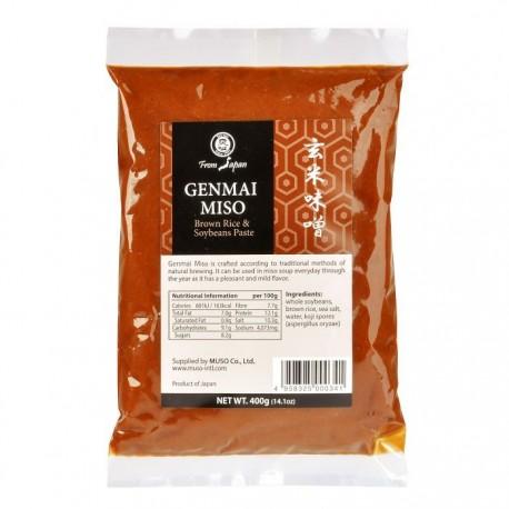 Miso Genmai 400g - pasta rýžová