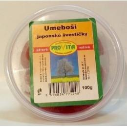 Umeboši - japonské švestičky 100g Provita