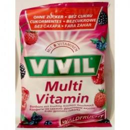 Bonbóny bez cukru - Vivil - Multivitamin 75g