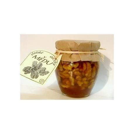 Vlašské ořechy v medu LOUDA