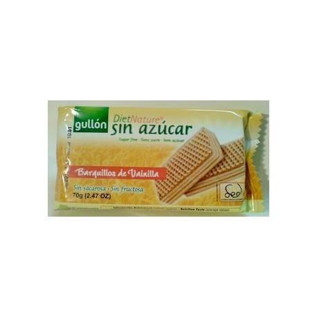 Wafle bez cukru s vanilkovou příchutí 70g GULLON