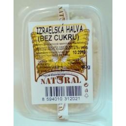 Izraelská halva - bez cukru 80g NATURAL