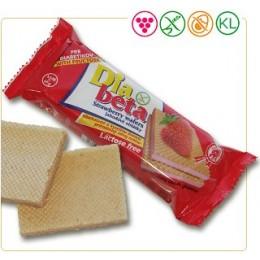 Diabeta jahodové oplatky 60g