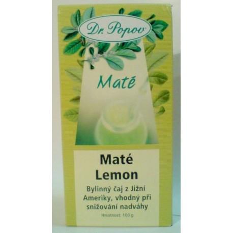 Maté Lemon 100g POPOV