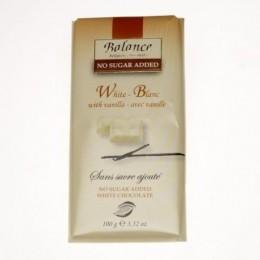 Balance bílá čokoláda s vanilkou, bez cukru 100g