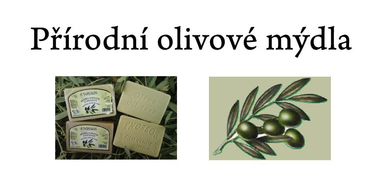 Olivové mýdla