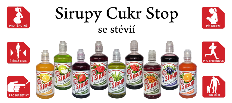 Sirupy a sladidla Nova Fruit Plus